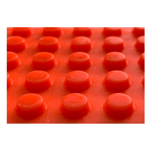 Orange markeringsdupper