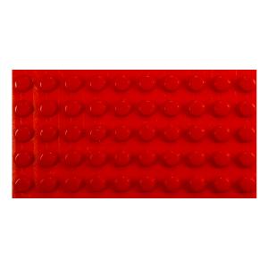 røde markeringsdupper